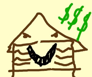 The House from Monster House wants money