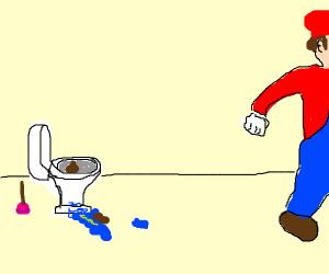 Mario's sick day