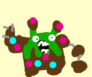 Draw the weirdest pokémon you know