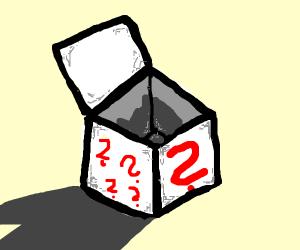 Mysterious empty box