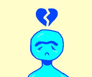 unibrow girl is heartbroken