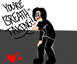 angery smol keanu calls someone breathtaking