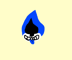 Lancer from deltarune