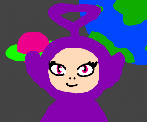 Majestic space Teletubby