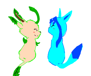 Glaceon & Leafeon