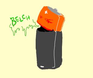 burping battery