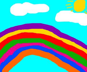 Wrong-order rainbow