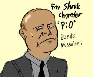 Favorite Shrek Character PIO (Puss In Boots)