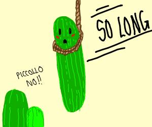 Pickle hangs itself