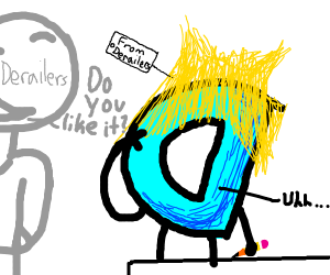 derailers gave Drawception a really cool wig