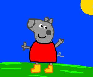 robot peppa pig
