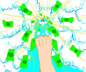 Money from heaven (gotcha)