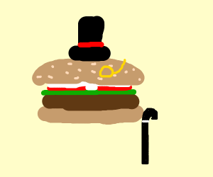 Fancy Hamburglar