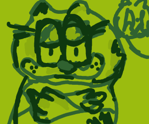 A very abstract Garfield