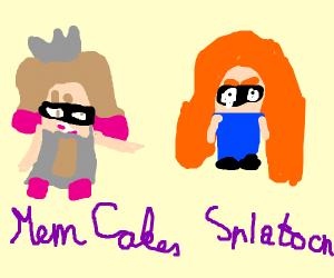 Mem Cakes (Splatoon 2: Octo Expansion) - Drawception