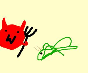 Grasshopper and the Devil