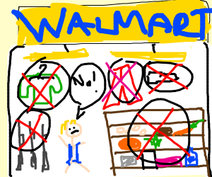 Wal-mart bans everything