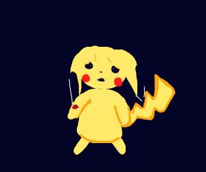 Yellow hurt boy is sad :(