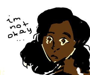 Woman with black skin insists shes not okay