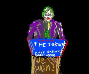 Joker rules Gotham