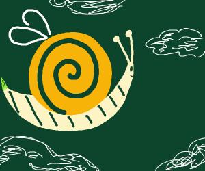 bee/snail mix