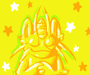 all worship the golden meowth