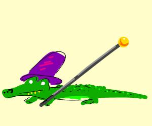 Pimp alligator