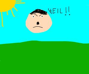 Hitler on a sunny day