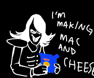 RouxIs Kaard makes mac and cheese