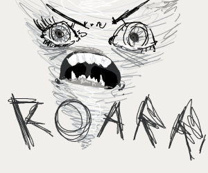 ANGRY TORNADO ROARS