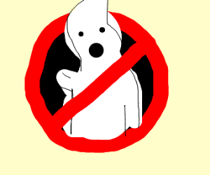 Ghost Busters logo (who you gonna call?)