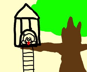 Pet Tree House