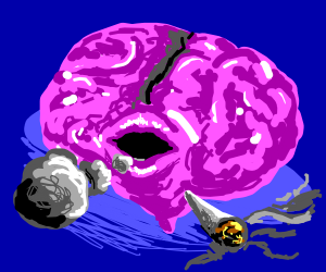The Brain Smoking Weed