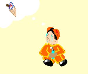 builder longs for ice cream