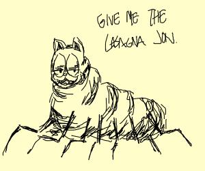 abomination garfield requires lasaga