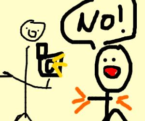 Polaroid God tells you to not use flash