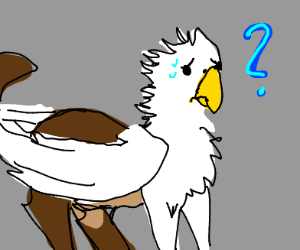 Confused Griffin