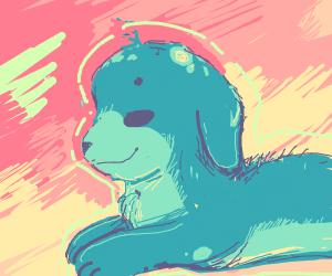 Blue dog.