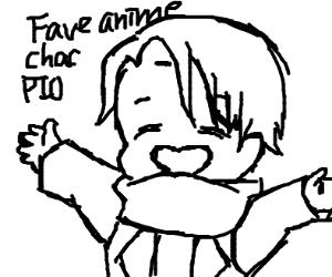 Fave anime character PIO
