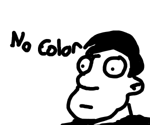 Man who hasnt seen color