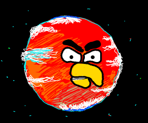 Angrybird is a planet