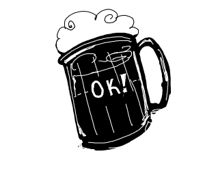 Beer is okay!