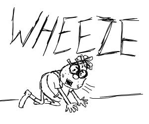 Carl has asthma