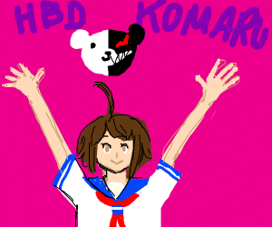 Happy Birthday Komaru Naegi!!