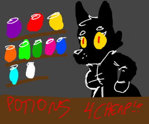 Potion seller has good prices