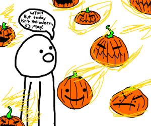 Pumpkinhead falls