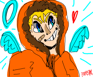Anime Kenny went to heaven