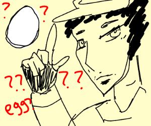 Jouta Kujo (Kakyoin did you lay this egg)