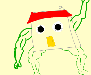 house with legs