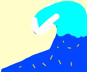 Fries in a Tsunami